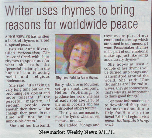 Peacemaker article