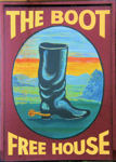The Boot Inn sign